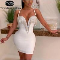 Платье с декольте украшенным камнями Цена 1371 руб. ($17.34) | 54 заказа Посмотреть
