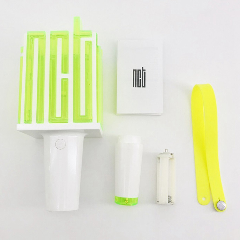 LED Kpop NCT Light Stick Lamp Lightstick Music Concert Lamp Fluorescent Stick Aid Rod Fans Gift NCT KPOP Stationery Set