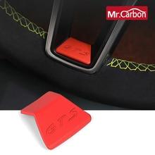 พวงมาลัยแพทช์ตกแต่งสำหรับ Porsche Macan Cayenne Panamera รถการปรับเปลี่ยนภายในตกแต่งอุปกรณ์เสริม