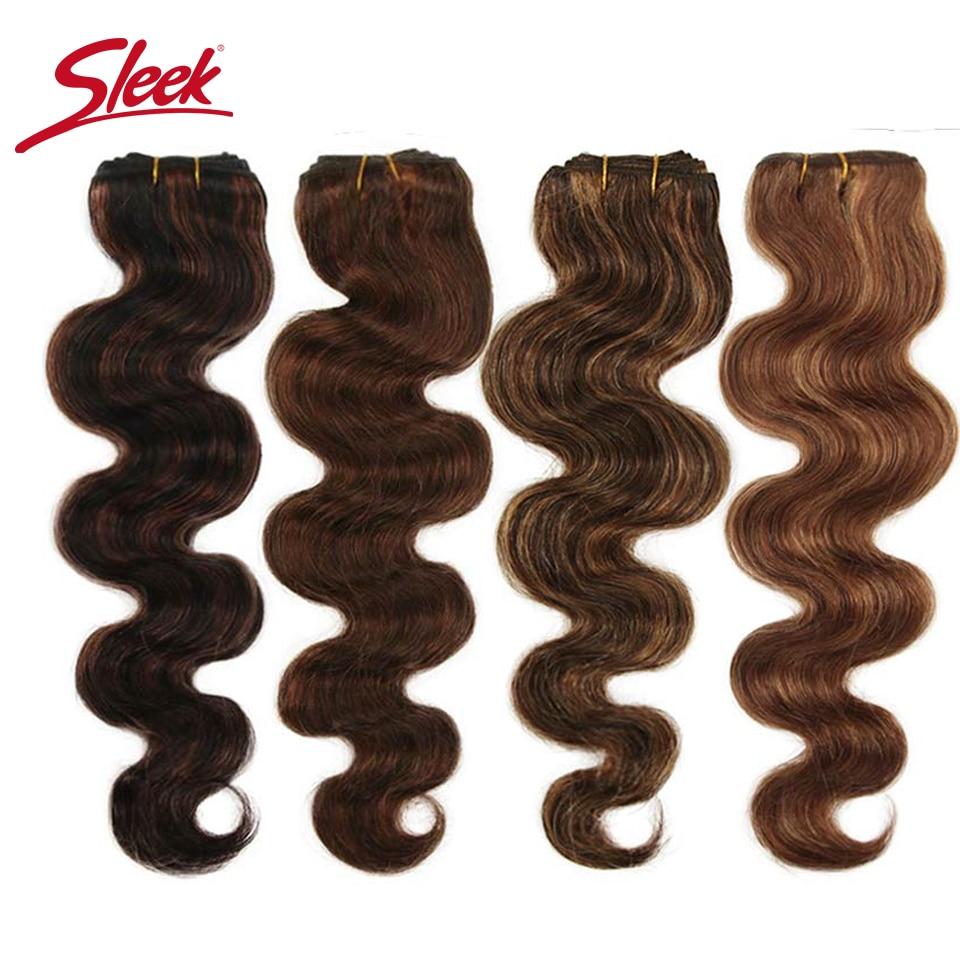 Elegante remy onda do corpo brasileiro cabelo humano em tece pacotes cabelo p4/27 e blone p6/27 extensão do cabelo 10 a 26 polegadas