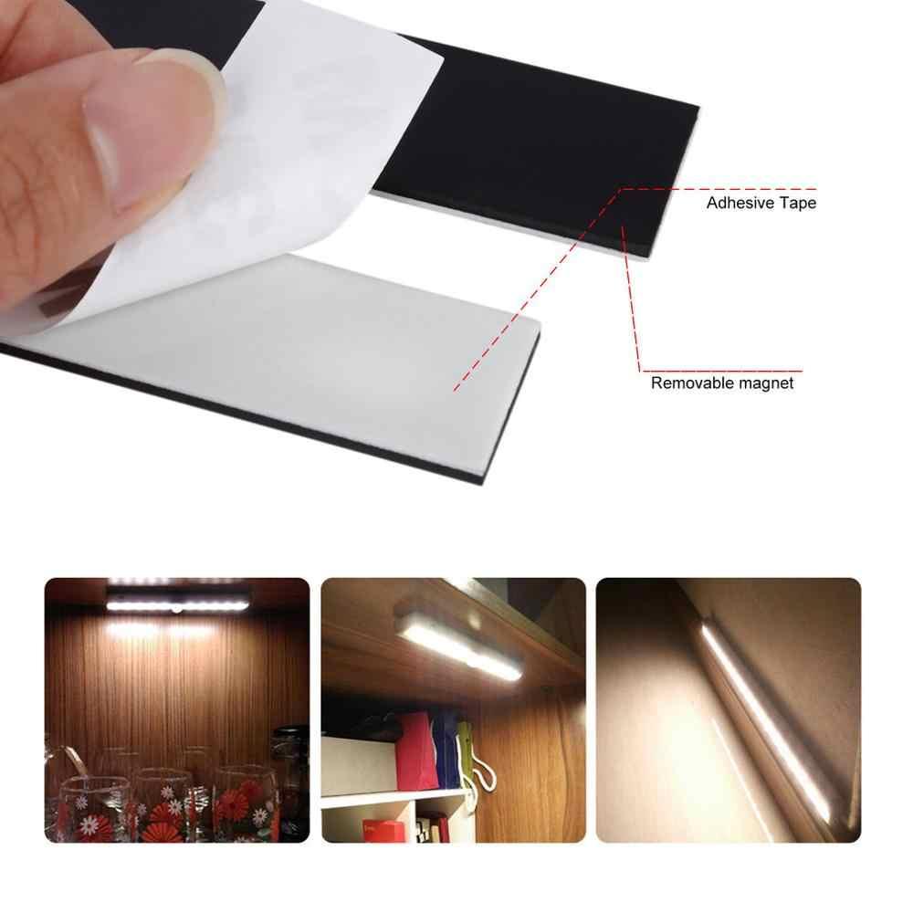 ICOCO светодиодный движения USB Перезаряжаемые Беспроводной Сенсор светодиодный Ночной светильник Настенный светильник для шкафа Лестницы Спальня шкаф
