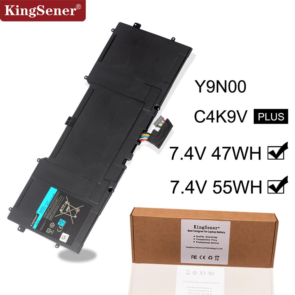 Kingsener Y9N00 C4K9V New Laptop Battery for DELL XPS 12 XPS13  L321X XPS13 L322X L321X C4K9V 3H76R Y9N00 489XN 7.4V 47WH-in Laptop Batteries from Computer & Office
