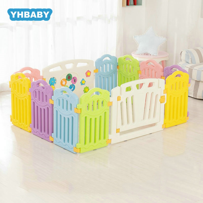 Children's Indoor Playpen Environmental Protection Barrier Game Safety Fence Baby Fence Playpen For Baby Pool  Kids Play Yard