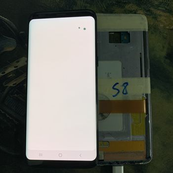 Super AMOLED For Samsung Galaxy S8 G950 G950F Touch Screen Digitizer LCD Display No Frame With Dead pixels