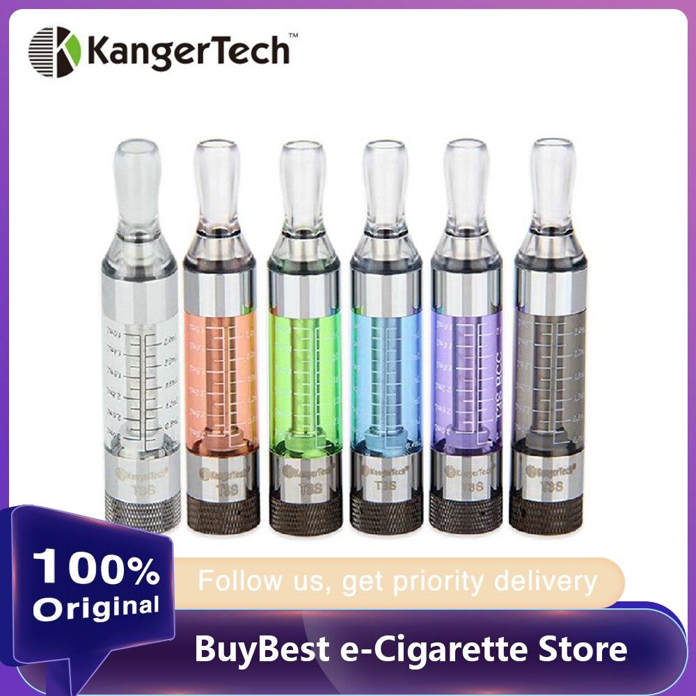 5 pièces e-cigs Kanger T3S eGo BCC 1.8 ohm Cartomizer bobine inférieure modifiable Clearomizer match eGo/ego-t/eGo C torsion vape batterie