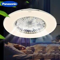 Panasonic LED wentylator sufitowy z przyciemnianiem zdalnego sterowania duży rozmiar 23 Cal pokój sypialnia salon lampa wentylatora
