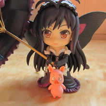 цена на Anime Accel World Kuroyuki Hime PVC Action Figure Collectible Model doll toy 10cm 249#