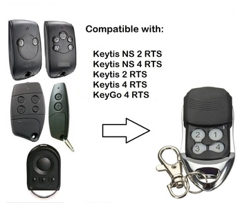For Telis 4 RTS1 Soliris RTS garage remote keytis 2 RTS duplicator gate door remote control 433.42MHz handheld transmitter the best somfy 433 42mhz remote control duplicator somfy rts garage door opener controle somfy gate opener handheld transmitter
