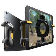 Pubg gatilho controlador para ipad tablet capacitância l1r1 fogo aim botão disparadores gamepad joystick para ipad tablet fps jogo