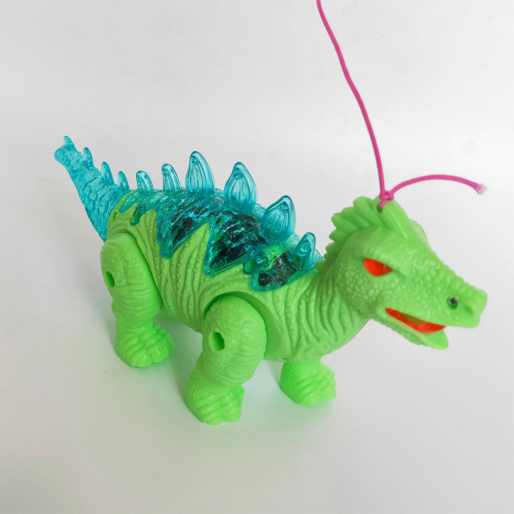 Kids Electric Pet Toy Plastic Simulation Dinosaur Model Electric Walking Sound Light RC Toy Doll Kids Educational Toys Baby Gift