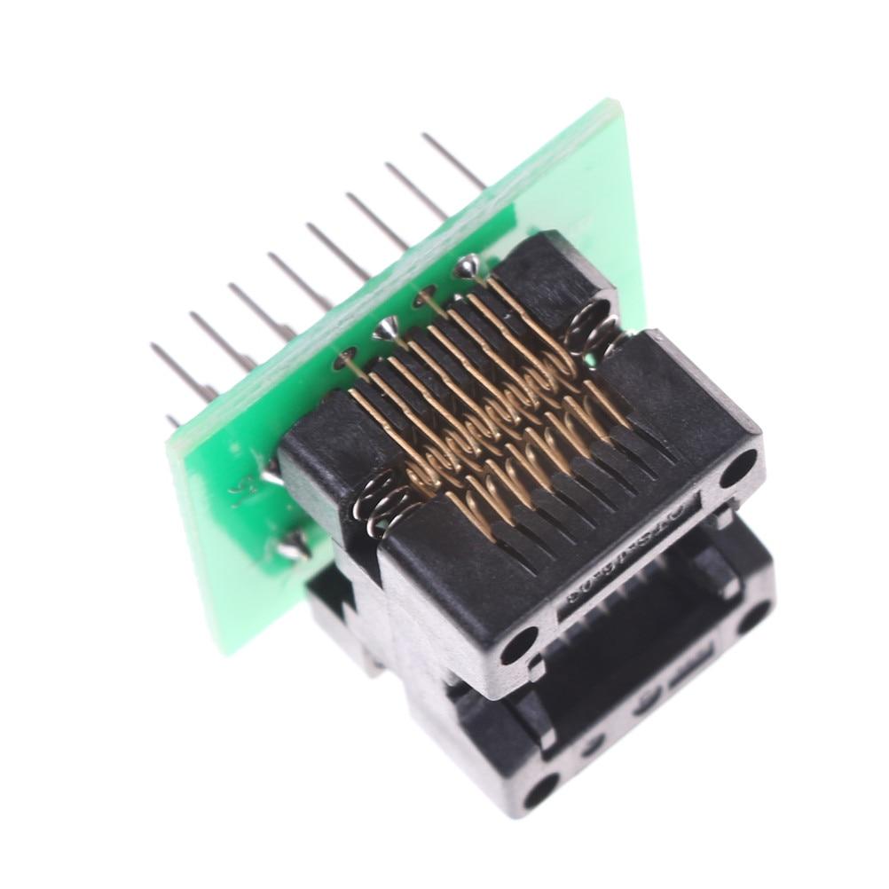 SOP16 to DIP16 Programmer Adapter Socket Converter Board 1.27 mm Pitch opnk