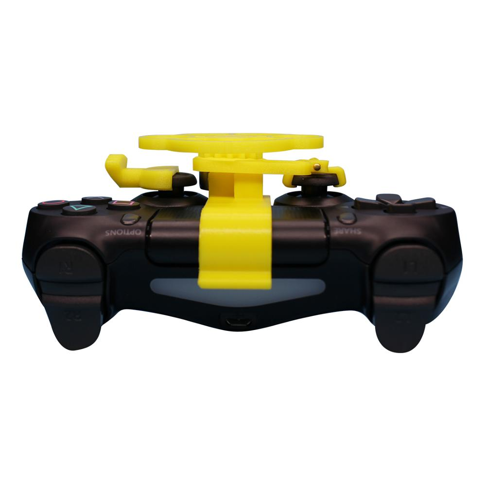PS4 Gaming Racing Wheel Enhanced 3D printed mini steering wheel add on for the PlayStation 4 controller in Replacement Parts Accessories from Consumer Electronics