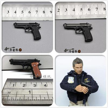 Veyron 1/6 soldier Beretta M92F toy pistol model 12 inch male and female soldier dolls are available not real guns in stock недорого