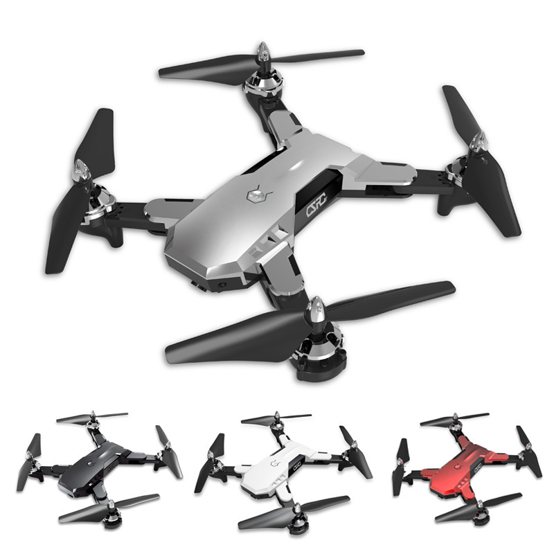 CS7 Unmanned Aerial Vehicle Aerial Photography Folding Quadcopter WiFi Real-Time Image Transmission Telecontrolled Toy Aircraft