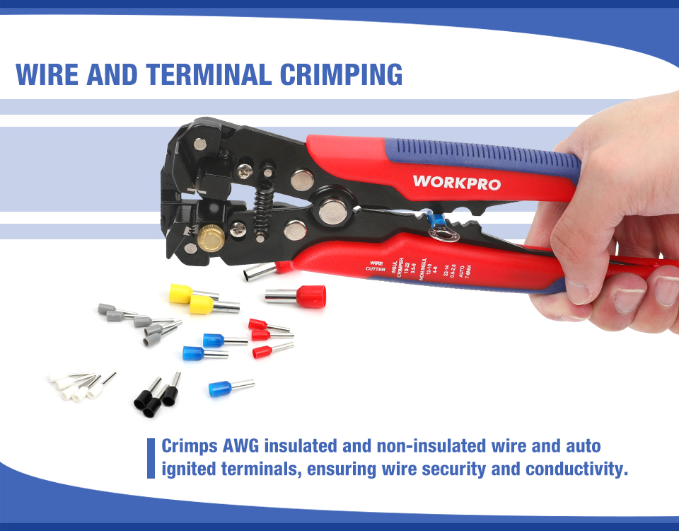 Wire and Terminal Crimping