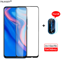 2-in-1 Camera Len Glass Film Huawei P Smart 2019 Screen Protector Protective Z Tempered