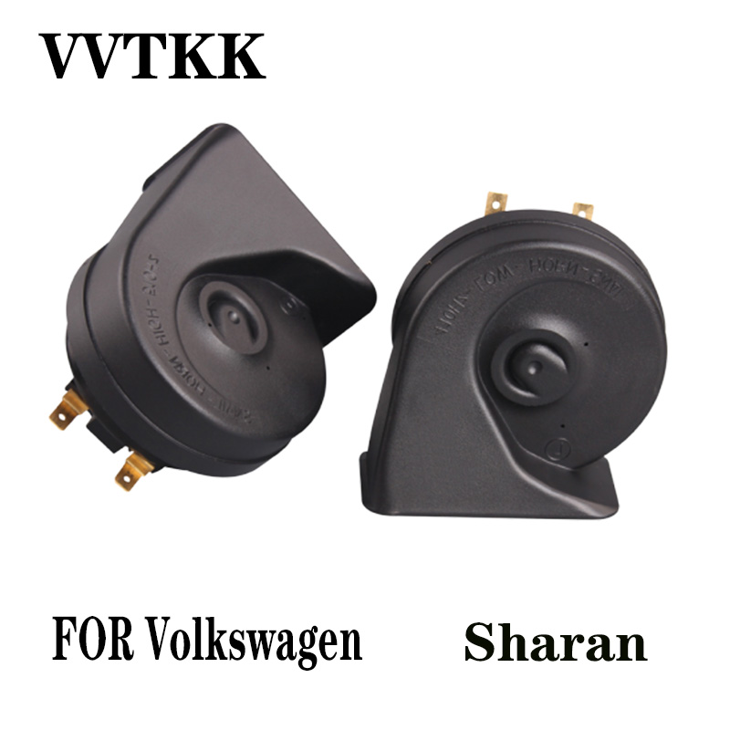 12V UNIVERSAL FIT CAR HORN REPLACEMENT HIGH TONE  Volkswagen CRAFTER VAN