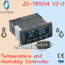ZL 7850A ver 2,0, incubadora, depósito de queso o salchichas, Control de Sauna húmeda, controlador de temperatura de humedad, termostato higrostato