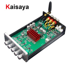 Kaisaya TPA3250 Bluetooth 5.1 wzmacniacz subwoofera QCC5125 2.1 Audio klasy D Amplificador 130W + 70W * 2 LDAC PCM5102A 24BIT dekodowania