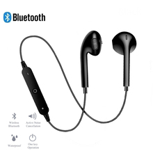 Bluetooth Wireless Earphones Headset Noise Cancelling Neckband life Sport Stereo