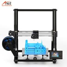 חדש Anet גדול הדפסת גודל A8 בתוספת 3D מדפסת DIY שולחן 3D FDM מדפסת עם 8GB מיקרו SD כרטיס USB מחבר הרכבה קלה