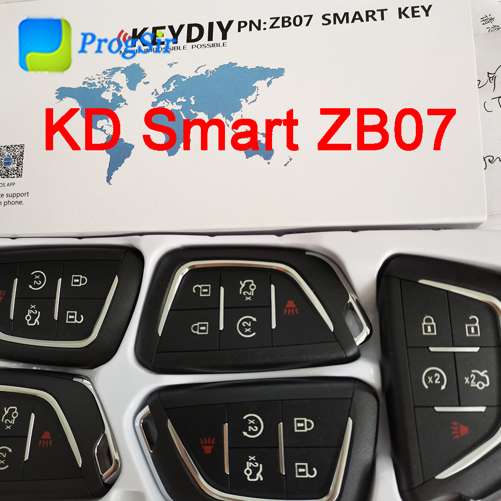 KEYDIY ZB07 Universal  KD Smart Remote Control 5 Button For Cadillac Type