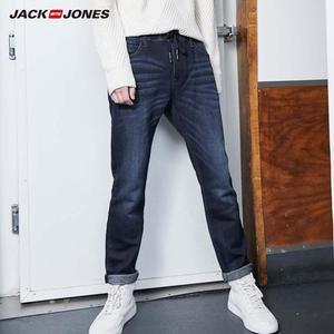 Image 1 - JackJones ชายผ้าฝ้ายยืดกางเกงยีนส์กางเกงยีนส์อุ่นกางเกงบุรุษ streetwear 219332586