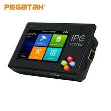 3,5 дюймов H.265 4K IP тестер систем Скрытого видеонаблюдения с дисплеем IP AHD CVI TVI IP камера тестер ONVIF PTZ wi-fi выход