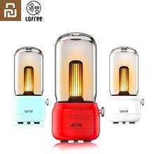 Nova youpin lofree candly retro luz usb de carregamento/carregamento suporte dois modos de luz quente como sempre quente sensação circundante
