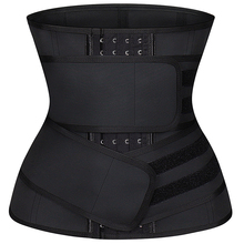 High Compression Latex Waist trainer 9 Steel Bones 4 Hooks Corset Waist Training Girdle Slimming Belt Double Straps Shapewear