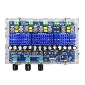 Image 2 - Bluetooth 5.0 TPA3116D2 4 kanałowy 50Wx2 + 100Wx2 karta do cyfrowego wzmacniacza mocy Stereo Dual Bass Subwoofer wzmacniacz kina domowego XH A310