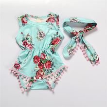 baby girl clothes newborn toddler baby girls rompers lace floral overall outfits sunsuit clothes Toddler Baby Bodysuits New Summer Newborn Rompers Kids Costumes Infants Flowers Clothes Casual Floral Baby Outfits