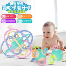 Baby Speelgoed Manhattan Hand Bal Hot Sales mo ya jiao Hot Sales Bijtring Rammelaar-in-(China)
