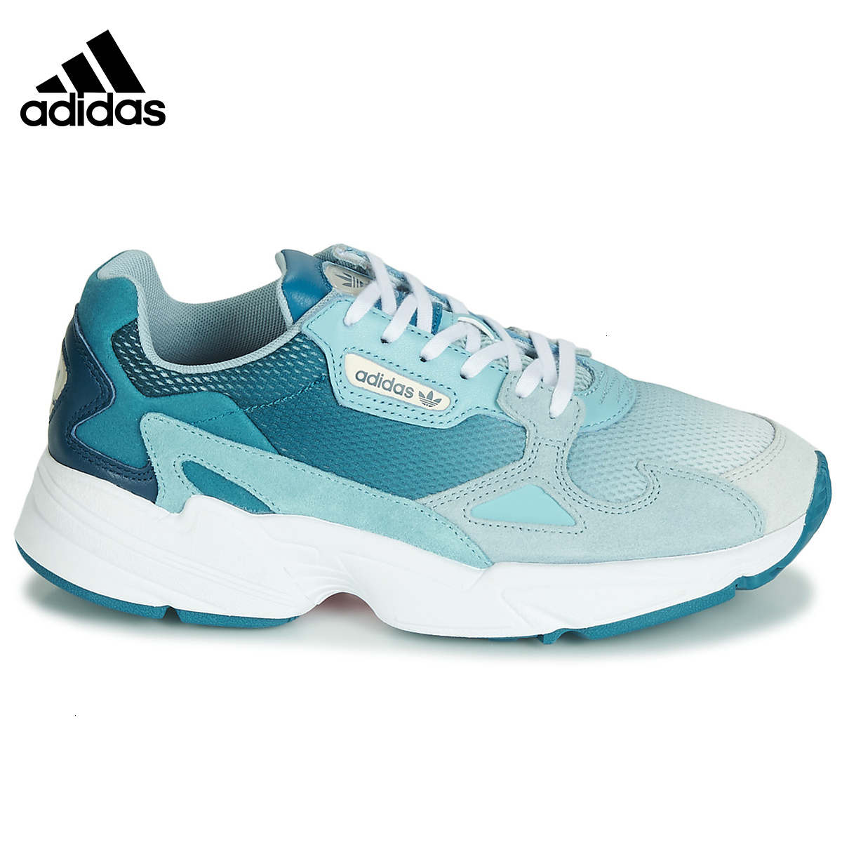 <font><b>Adidas</b></font> Original Falcon Women's Sports Shoes Breathable <font><b>Running</b></font> Shoes Outdoor <font><b>Sneakers</b></font> #EF1963 image