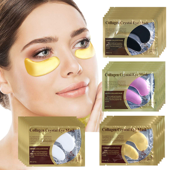 Collagen Crystal Patches Under Eye Bags Remove Dark Circles Moisturizing Eye Patch Mask Anti Wrinkle Golden Gel Mask Skin Care 5 8 10pair eye mask collagen gold eye patch under the eyes bags anti wrinkle anti aging dark circles moisturizer gel eye patches