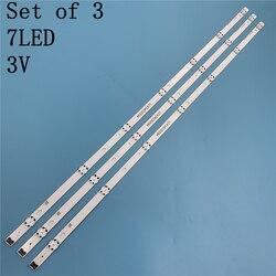 Светодиодная лента для подсветки 7 ламп для LG Innotek 17Y 43inch-A-Type 43UJ6300 43UJ6307 43LJ594V HC430DUN SSC_43LJ61_FHD 43UJ630V