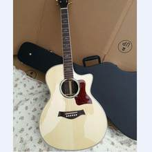 Chaylor 812ce guitare acoustique Tayl 814ce guitare électrique acoustique KSG naturel 814 NA guitare acoustique(China)