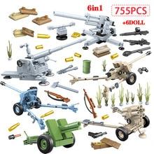 755 piezas militar Alemania pistola de coches bloques de construcción legoingly WW2 policía de la ciudad soldado figuras de policía ladrillos juguetes educativos para niños