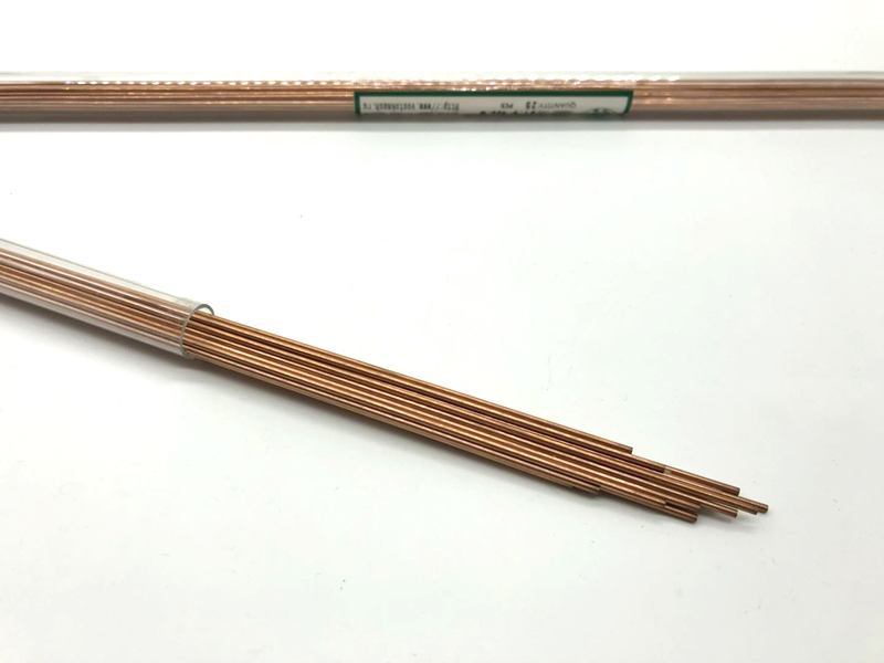 Copper Electrode Tube 2.0mm*400mm Multi Hole for EDM Drilling Machine image