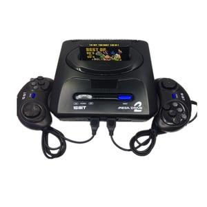 16 bit SEGA MD2 Video Spiel Konsole mit UNS und Japan Modus Schalter, für Original SEGA griffe Export Russland mit 196 klassische spiele