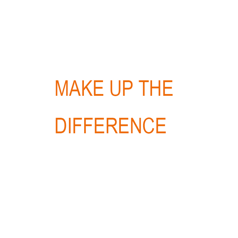 Make Up The Difference Link   5units Number 1 2 3 4 5