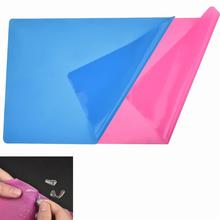 Silicone-Sheet Placemat Crafts Jewelry-Casting-Moulds Heat-Resistant Nonstick for Multipurpose-Mat