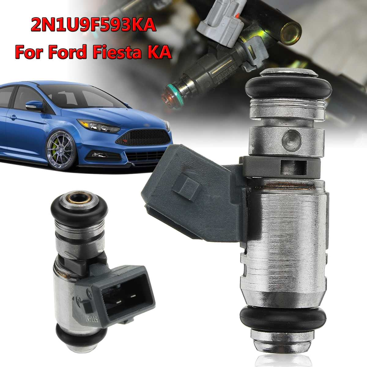 Mk4 Bosch Petrol Injector Fits Ford Fiesta 1.3 FAST DELIVERY