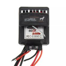 60A 7.4V Brushed Speed Controller ESC for Xinlehong 9125 1/10 RC Car