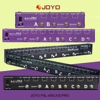 JOYO Guitar Programmable PXL8 PXL4 PXL Live PXL Pro Electric Guitar Effect Pedal Looper Controller Programmable Grouping System