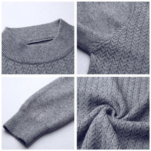 Image 5 - COODRONY Brand Sweater Men Autumn Winter Thick Warm Cashmere Wool Pullover Men Pure Color Knitwear Turtleneck Pull Homme 91114