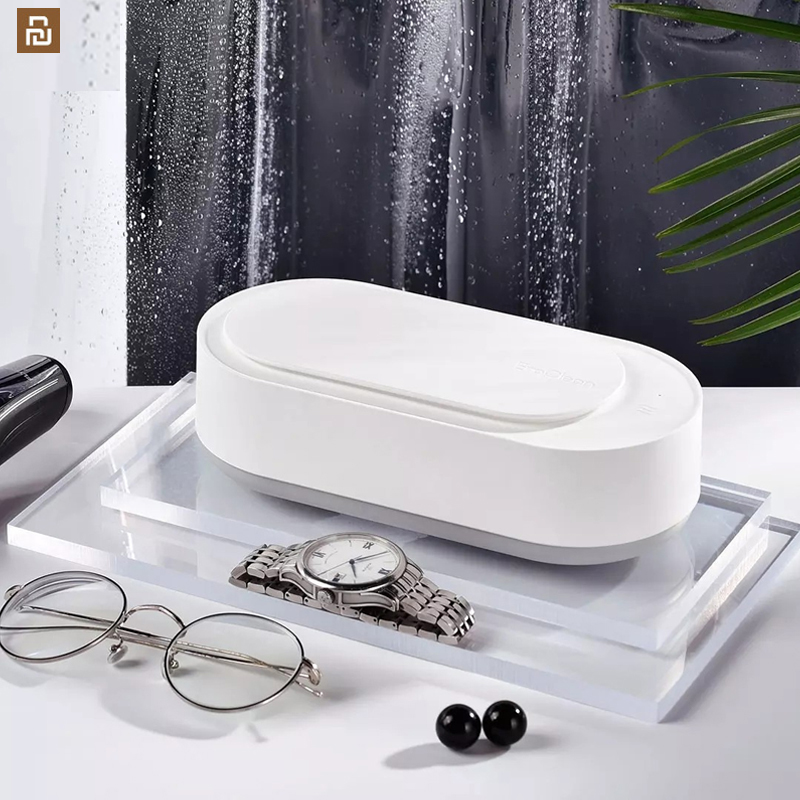 Ultrasonic Cleaner For Jewelry Box Glasses Watch Makeup Brush Razor 45000Hz High Frequency Vibration Cleaning Tank Mi Box