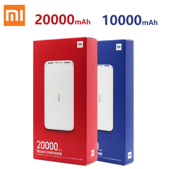 XiaoMi Redmi Power Bank 20000mAh 10000mah 18W Quick Charge XiaoMi Redmi Power Bank Dual USB Two-way Charging Portable Charger image