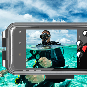 Image 3 - Boîtier de téléphone portable de plongée étui de téléphone étanche 360 ° housse de Protection complète 60M/195ft pour HUAWEI P30 / MATE 30/ P20 PRO/P30 PRO