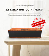 Деревянные bluetooth динамик беспроводной музыкальный плеер